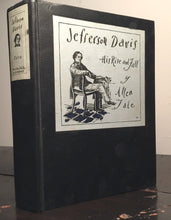JEFFERSON DAVIS: HIS RISE AND FALL Allen Tate 1st/1st 1929 Illustrated CIVIL WAR