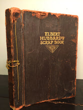 ELBERT HUBBARD'S SCRAP BOOK, E. Hubbard, 1923 with UPSIDE DOWN COPYRIGHT DATE