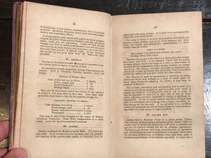1840 — MEDICAL BOTANY OR HERBAL GUIDE TO HEALTH, W. Simmonite, 1st/1st HERBALISM