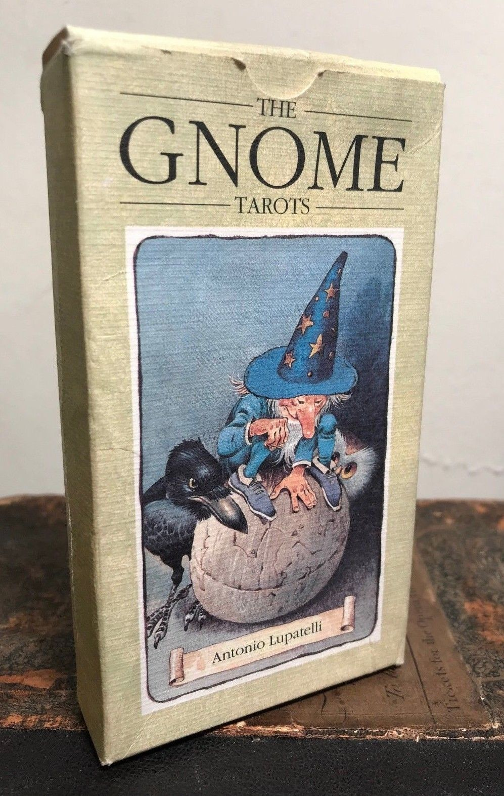 1991 - THE GNOME TAROTS - ANTIONIO LUPATELLI - 1st Ed 1991, SCARCE BOX DESIGN