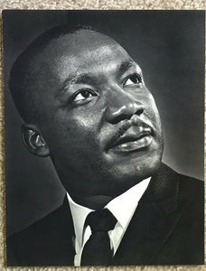 Vintage YOUSUF KARSH Photogravure Portrait Photo, 1960s - MARTIN LUTHER KING, JR