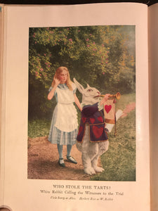 ALICE'S ADVENTURES IN WONDERLAND, Lewis Carroll, 1st/1st PHOTOPLAY EDITION 1919