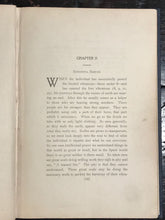 THE PHILOSOPHY OF NUMBERS: THEIR TONE AND COLORS, L. Dow Balliett, 2nd Ed 1911
