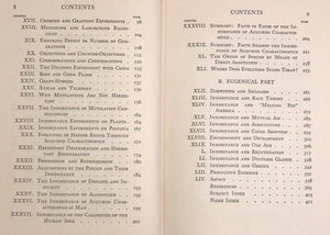 1924 - INHERITANCE OF ACQUIRED CHARACTERISTICS - Kammerer 1st/1st - EUGENICS