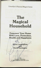 MAGICAL HOUSEHOLD - Cunningham, 1988 SIGNED - MAGICK WITCHCRAFT WITCH GRIMOIRE