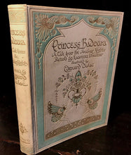 PRINCESS BADOURA by Laurence Housman, Illustrated by Edmund Dulac, 1st/1st 1913