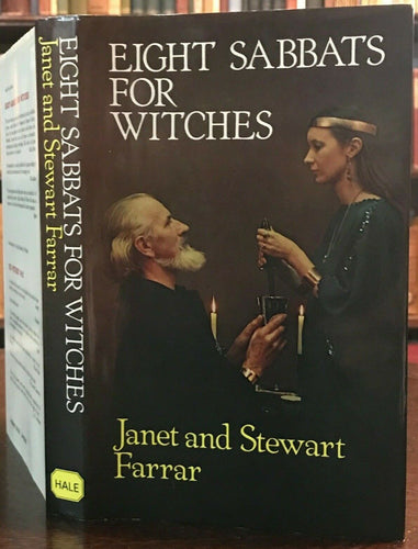 EIGHT SABBATS FOR WITCHES - Janet & Stewart Farrar, 1985 - Witchcraft Occult