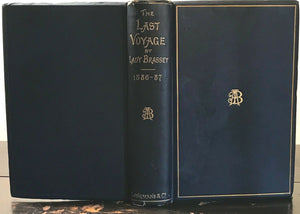 THE LAST VOYAGE TO INDIA & AUSTRALIA - LADY BRASSEY, 1st 1889 - VICTORIAN TRAVEL