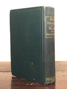 MUSK, HASHISH AND BLOOD H. France Ltd Ed 500 Copies for Subscribers 1900 Illust