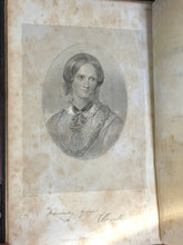 THE LIFE OF CHARLOTTE BRONTE by Elizabeth C. Gaskell, Early Edition, 2 Vols 1864