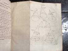 1804 - ELEMENTS OF THE CONIC SECTIONS, Dr. Robert Simson, GEOMETRY MATH
