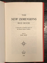 NEW DIMENSIONS RED BOOK: PRACTICAL ASPECTS OF WESTERN MYSTERY TRADITION, 1968