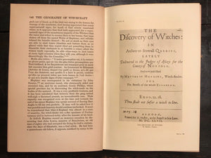 THE GEOGRAPHY OF WITCHCRAFT - Montague SUMMERS, 1st 1927 - WITCHES DEMONS MAGIC
