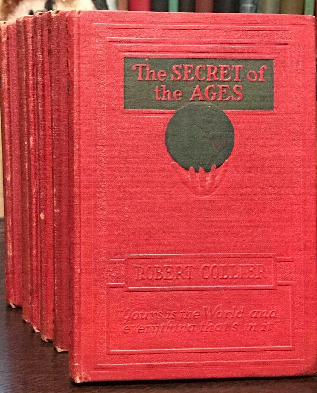 SECRET OF THE AGES - Collier, 1st 1926 COMPLETE 7 VOLS - MANIFEST LAW ATTRACTION
