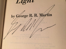 DYING OF THE LIGHT George R.R. Martin 1st/1st – 1977 HC/DJ Near Mint + SIGNED