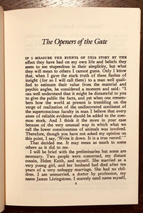 OPENERS OF THE GATE: STORIES OF THE OCCULT - 1980s, SUPERNATURAL FANTASY FICTION