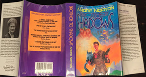 BROTHER TO SHADOWS, Andre Norton 1st/1st 1993 HC/DJ SIGNED, Near Mint SCI FI