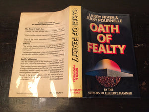 OATH OF FEALTY - Larry Niven, J. Pournelle, 1st Edition 1981 HC/DJ - SCI FI