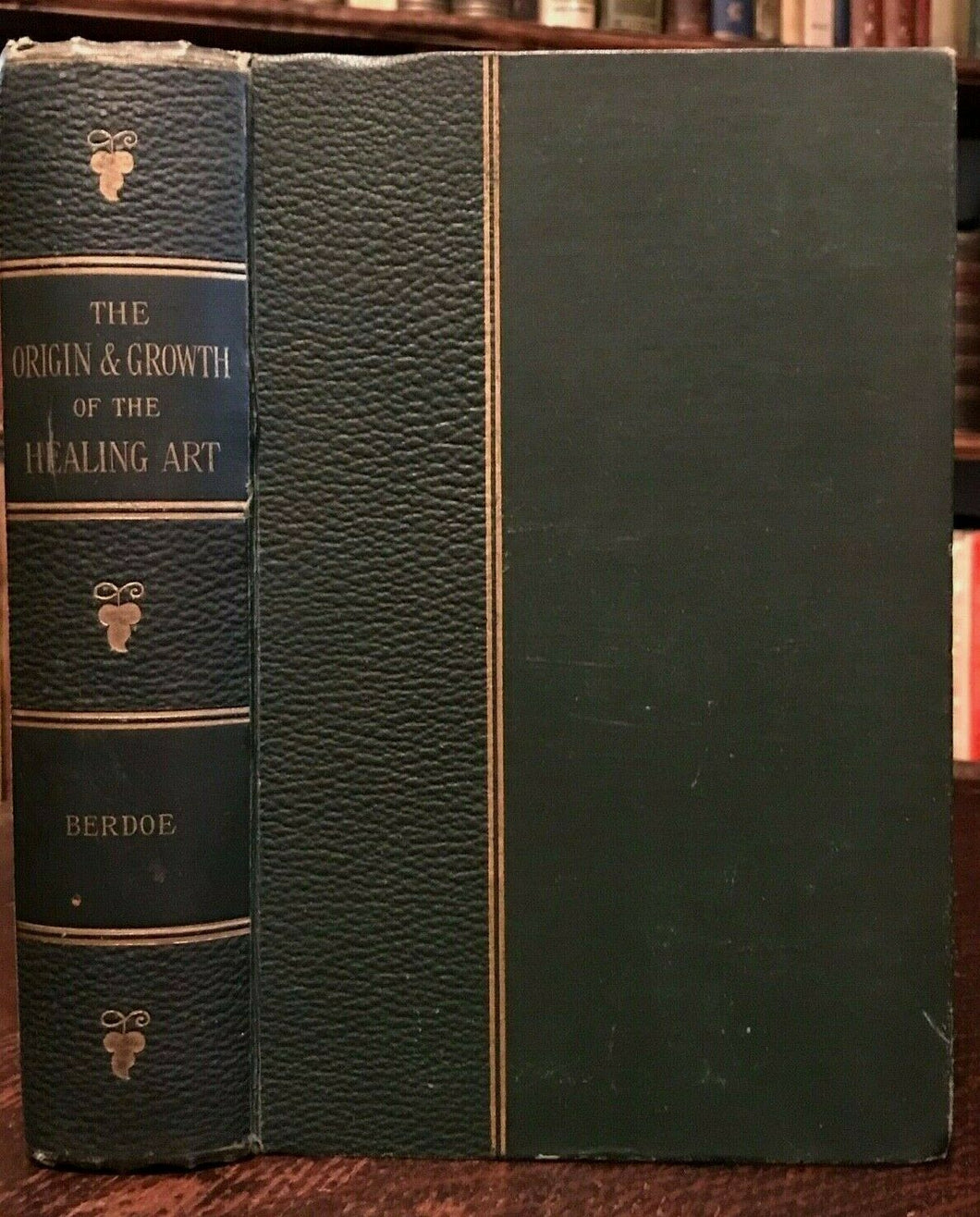 ORIGIN AND GROWTH OF THE HEALING ART - 1st Ed, 1893 - WITCHCRAFT MYTH MEDICINE