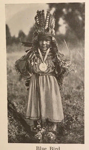 EDWARD CURTIS - INDIAN DAYS OF THE LONG AGO, 1st/1st 1915 RARE US INDIAN PHOTOS