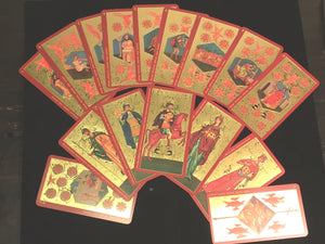 GOLDEN TAROT OF THE TSAR Gilded Tarot Deck by A.A. Atanassov, Lo Scarabeo 2003