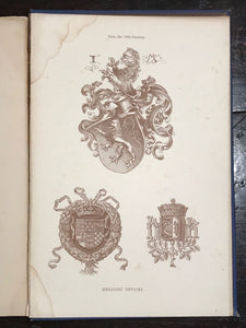 HAND BOOK OF MEDIAEVAL ALPHABETS AND DEVICES, H. Shaw, 1st/1st 1853 Illustrated
