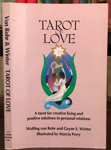 TAROT OF LOVE - Rohr and Winter, 1st 1990 - RELATIONSHIPS ENERGY DIVINATION