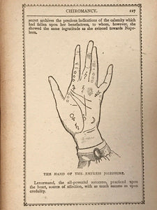 NAPOLEON'S BOOK OF FATE AND ORACULUM, 1900 - ASTROLOGY PALMISTRY OMENS CHARMS