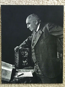 Vintage YOUSUF KARSH Photogravure Portrait Art Photo, 1960s - PAUL CLAUDEL