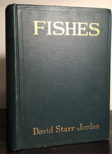 FISHES, David S. Jordan 1st Ed 1925 w/ 18 RARE Colored Plates, 673 Illustrations