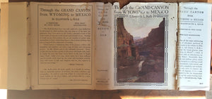 THROUGH THE GRAND CANYON FROM WYOMING TO MEXICO, E. Kolb, 1952 HC/DJ - SIGNED