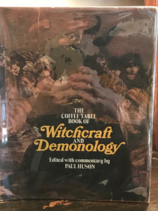 COFFEE TABLE BOOK OF WITCHCRAFT AND DEMONOLOGY - Paul Huson, 1st Ed 1973