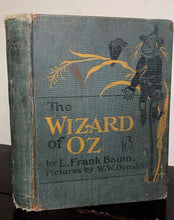 THE WIZARD OF OZ ~ L. FRANK BAUM, 1903 ~ ILLUSTRATED BY W.W. DENSLOW