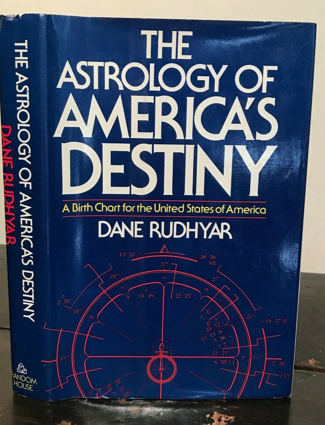 ASTROLOGY OF AMERICA'S DESTINY - Rudhyar, 1st 1974 SCARCE REVIEW COPY, 7 PHOTOS