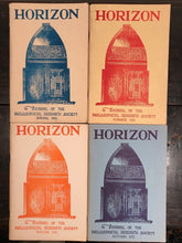 MANLY P. HALL - HORIZON JOURNAL - Full YEAR, 4 ISSUES, 1952 - PHILOSOPHY OCCULT