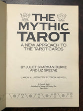 THE MYTHIC TAROT - Sharman-Burke, Greene, 1st 1986 DIVINATION MAGICK - Book Only