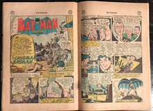 Batman #93 G-1.8 ROBIN THE CAVEMAN BATMAN 1955!!