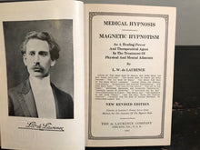 1925 MEDICAL HYPNOSIS MAGNETIC HYPNOTISM - de Laurence, Copy of FAMOUS MAGICIAN