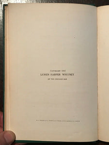 LIFE & TEACHINGS OF ZOROASTER - De Laurence, Whitney 1905 - MAGICK JEWS RELIGION