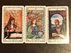 HUDES TAROT DECK - TRUE 1st/1st 1995 Printing WITH SCARCE TAROT BOX, Very Scarce