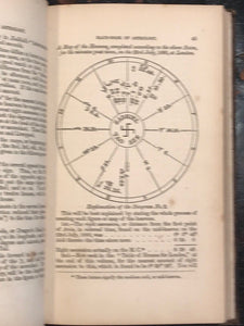1862 - ZADKIEL, THE HAND-BOOK OF ASTROLOGY, 2nd Ed. ASTROLOGY OCCULT VERY SCARCE