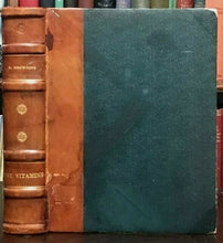 THE VITAMINS - E. Browning, 1st Ed 1931 - VITAMIN DEFICIENCIES HEALTH NUTRITION