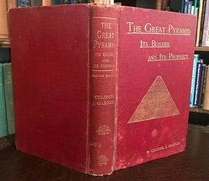 THE GREAT PYRAMID: ITS BUILDERS AND PROPHECY, 1912 - END OF DAYS PROPHECIES