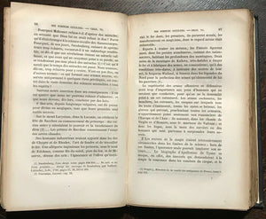 DES SCIENCES OU ESSAI SUR LA MAGIE - Salverte, 1856 MAGICK OCCULT - UNCUT PAGES