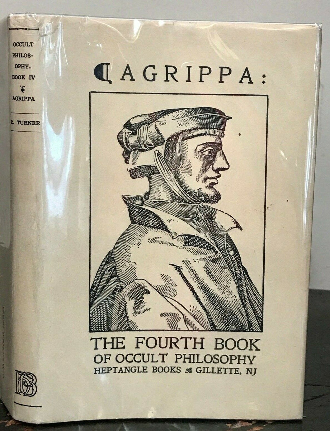 AGRIPPA: OCCULT PHILOSOPHY BOOK FOUR. MAGICAL CEREMONIES. 1985, Heptangle Books