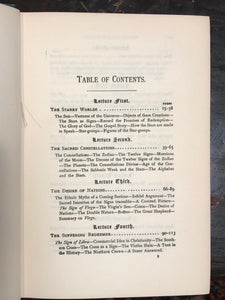 GOSPEL IN THE STARS, OR PRIMEVAL ASTRONOMY - Joseph Seiss - 1884 - ASTROLOGY