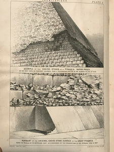 OUR INHERITANCE IN THE GREAT PYRAMID - Smyth, 1877 - EGYPTOLOGY PYRAMID SECRETS