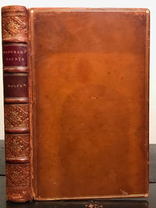 FINE BINDING - LITERARY HAUNTS & HOMES OF AMERICAN AUTHORS - WOLFE, 1st/1st 1899