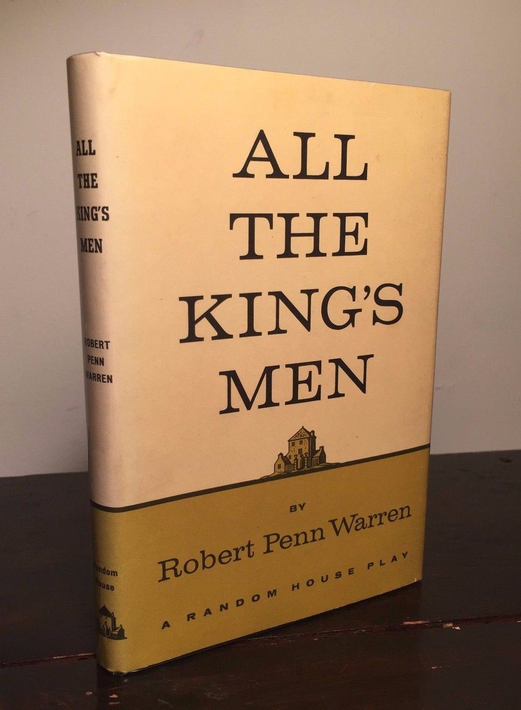 ALL THE KING'S MEN, Robert Penn Warren First Edition SIGNED 1960 HC/DJ,