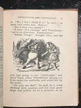 1897 LEWIS CARROLL - THROUGH THE LOOKING GLASS - Henry Altemus Edition